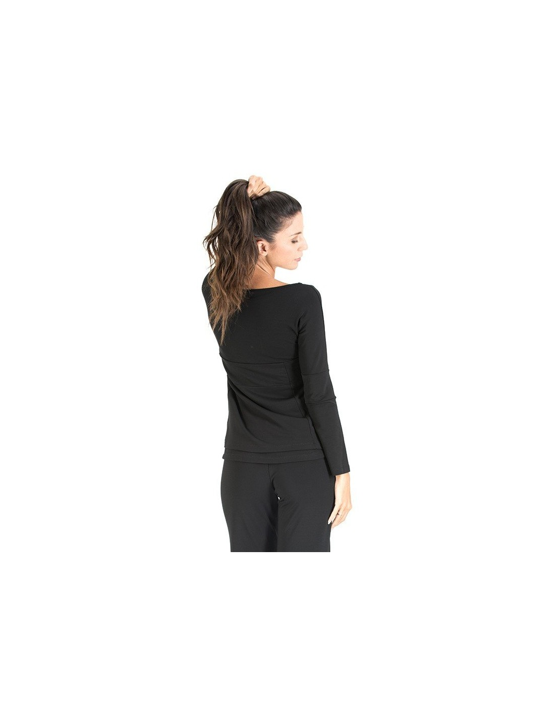 Long Sleeved Blouse Yogaessential Made In Italy