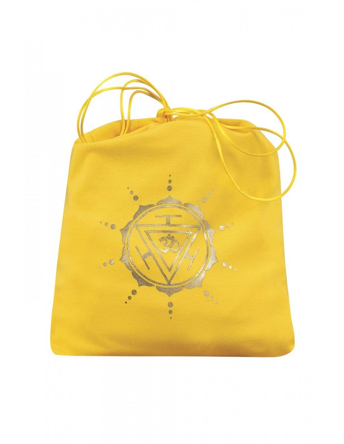 Yellow Manipura Pochette Chakra Line Yogaessential