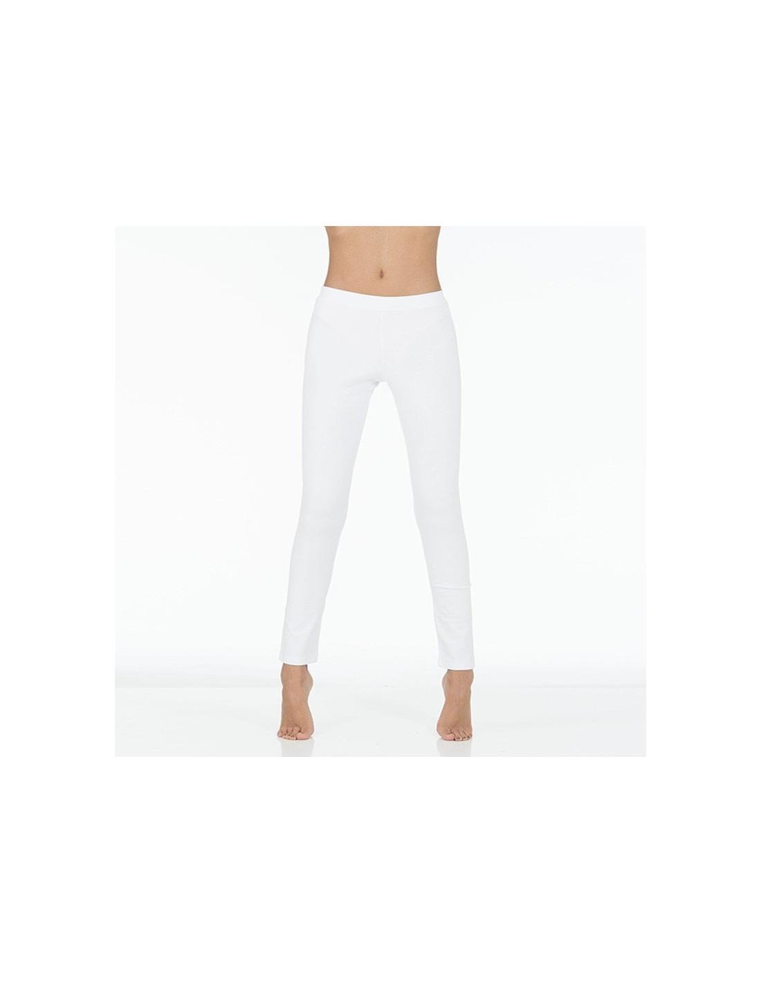 design senza tempo 7fd18 59fd2 Yoga leggings bianchi lunghi | YogaEssential - Made in Italy