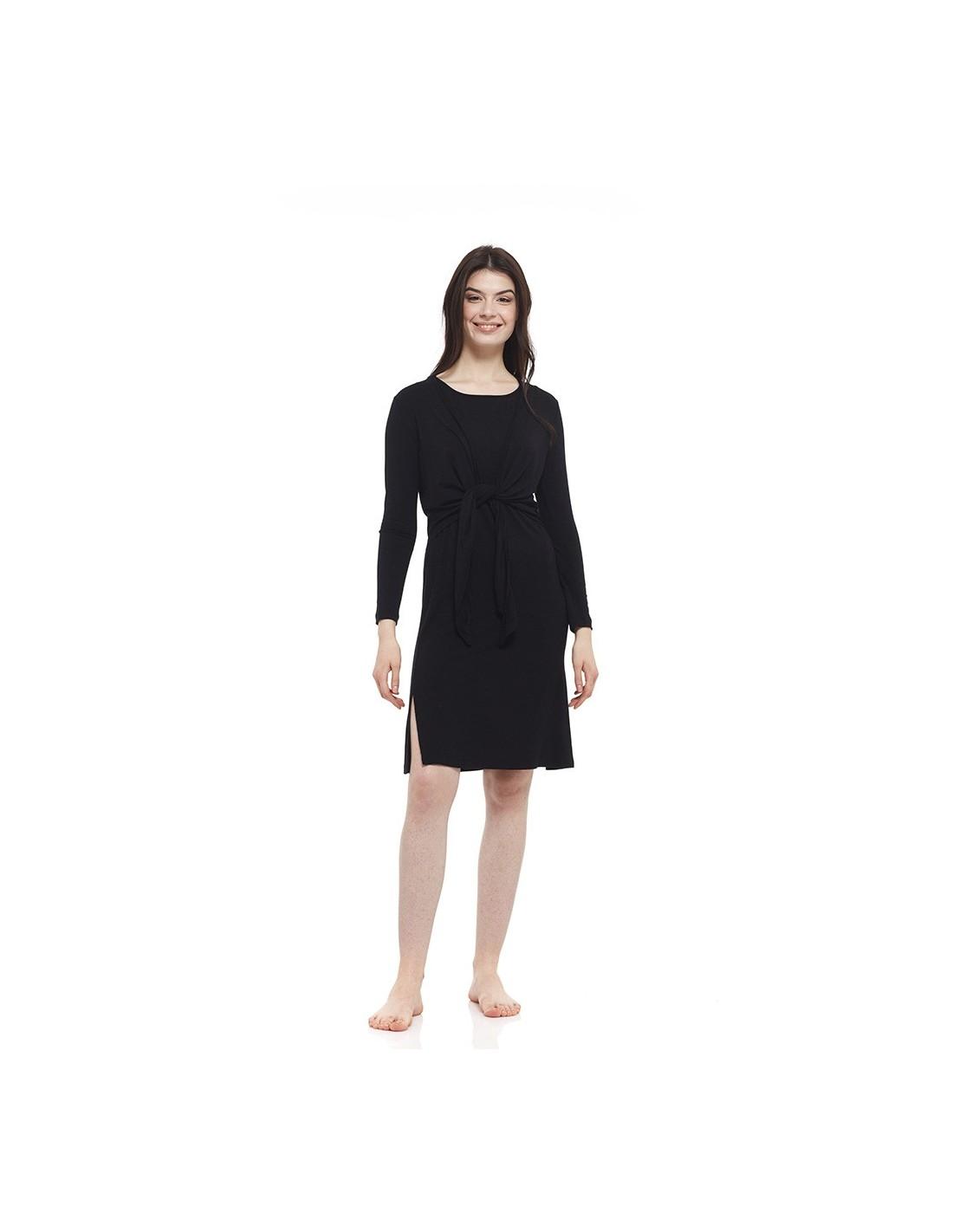 Bamboo Sleeveless Dress In Bamboo Yogaessential Made