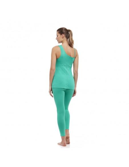 Anahata Outfit: anahata yoga top + high waist anahata yoga leggings (green)