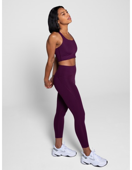 High-Rise Legging Lungo - (Prugna) - Girlfriend Collective