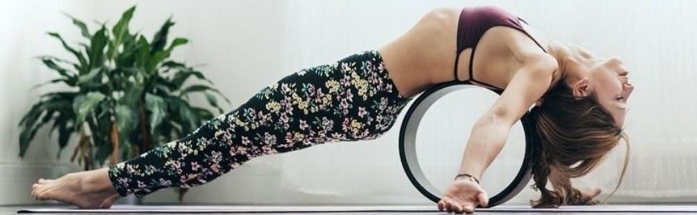 Yoga Wheel: Ruote e Cerchi per lo Yoga