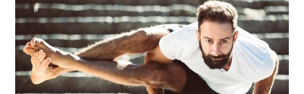 Magliette Yoga Uomo in Cotone o Fibra di Bamboo